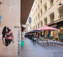 Degraves Street South by Esther Frieda