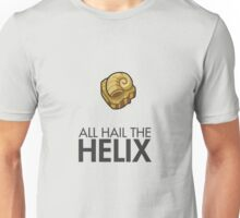 Twitch Plays Pokemon: All Hail The Helix! - Light Colors with Dark Text Unisex T-Shirt