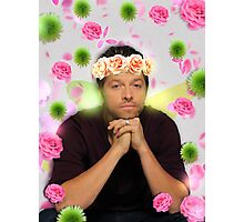 Flower Crown Misha  Photographic Print
