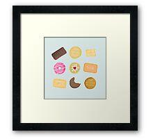 Biscuits for Tea Framed Print