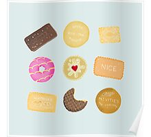 Biscuits for Tea Poster
