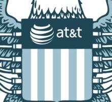 NSA parody logo Sticker