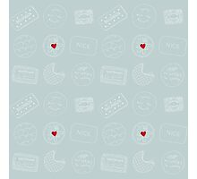 Biscuit doodles Photographic Print