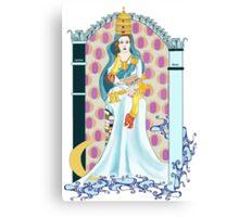 Tarot High Priestess Canvas Print