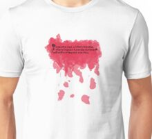 Roses are red violets are blue,  if there is ever a zombie outbreak,  I will still try and out run you. Unisex T-Shirt
