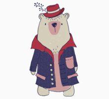 Coat winter bear One Piece - Long Sleeve