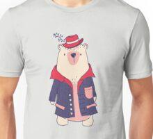 Coat winter bear Unisex T-Shirt