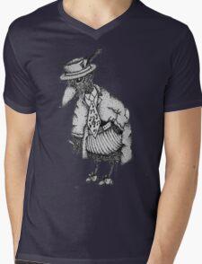 Jazz Bird Mens V-Neck T-Shirt