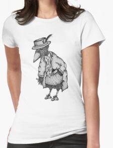 Jazz Bird Womens Fitted T-Shirt