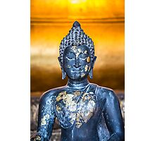 Buddha Statuette in Wat Pho Photographic Print