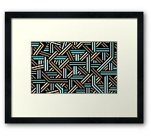 Bars Framed Print