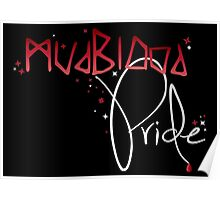 Mudblood Pride (version 2, white) Poster