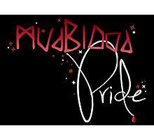 Mudblood Pride (version 2, white) Photographic Print