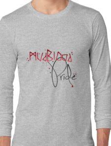 Mudblood Pride (version 2, black) Long Sleeve T-Shirt