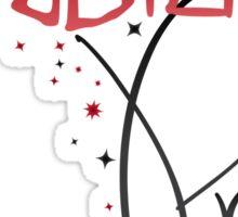 Mudblood Pride (version 2, black) Sticker