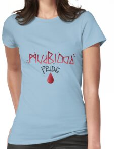 Mudblood Pride (version 1, black) Womens Fitted T-Shirt