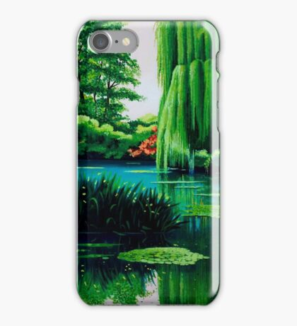Breathtaking swamp iPhone Case/Skin