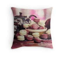 Teatime Treats Throw Pillow