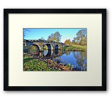 Chatsworth Bridge Framed Print