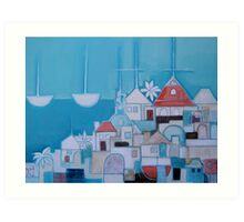Casas Perlo Mar II Art Print