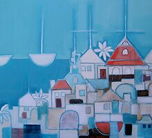 Casas Perlo Mar II by Elodie  Mayberry