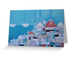 Casas Perlo Mar II Greeting Card