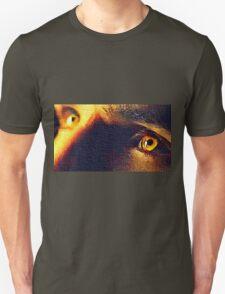 Amber Eyes Blazing Unisex T-Shirt