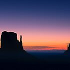 Sunrise in Monument Valley by Henk Meijer