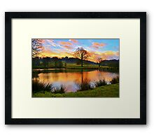 Hardwick View Framed Print