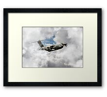 Airbus Military Framed Print