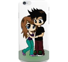 cute couple iPhone Case/Skin