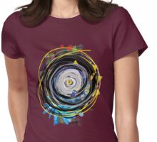 JNT Hawaiian Time Vortex Womens Fitted T-Shirt