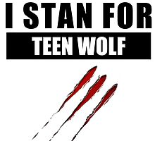 I stan for Teen Wolf by Triggheart