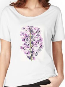 Delphinium Women's Relaxed Fit T-Shirt