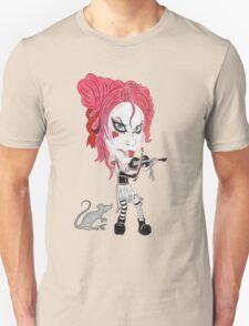 Gothic Punk Alternative Rock Funny Caricature Unisex T-Shirt