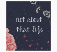'Not About That Life' Sticker by phan-you-not