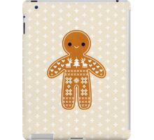 Sweater Pattern Gingerbread Cookie iPad Case/Skin
