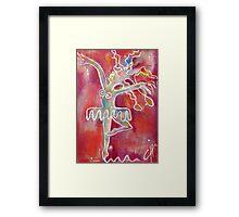 La vie dansante Framed Print