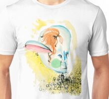 water color person  Unisex T-Shirt