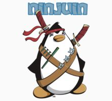 Ninjuin - The Ninja Penguin Baby Tee