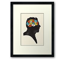 Shaun Phrenology Framed Print