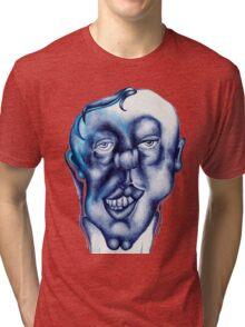blue guy :) Tri-blend T-Shirt