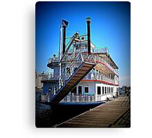 Steamboat River Walk Canvas Print