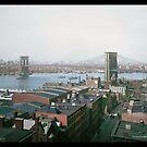 Brooklyn Bridge, New York, ca. 1904 by Dana Keller