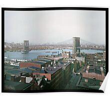 Brooklyn Bridge, New York, ca. 1904 Poster