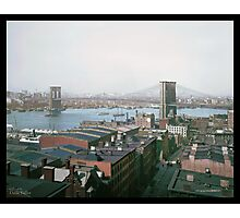 Brooklyn Bridge, New York, ca. 1904 Photographic Print