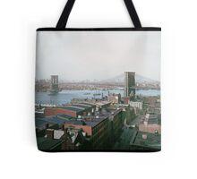 Brooklyn Bridge, New York, ca. 1904 Tote Bag