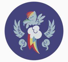 Rainbow Dash Cutie Mark Logo Kids Clothes