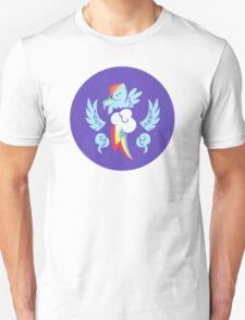 Rainbow Dash Cutie Mark Logo T-Shirt