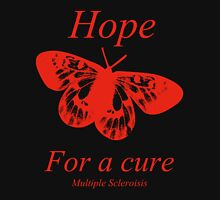 Hope Butterfly- MS Multiple Sclerosis T-Shirt